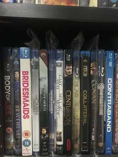 Blu-ray Disc Assorted $10-$15