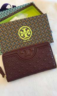 READY STOCK TORY BURCH CONTINENTAL WALLET
