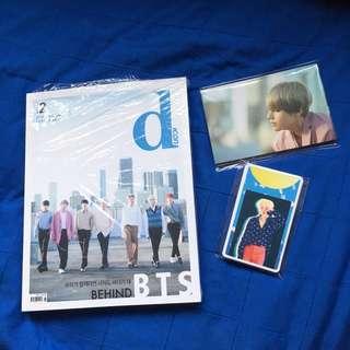 BTS D Icon vol. 2 behind the scene + photo art + photo postcard