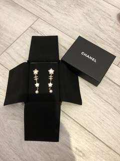 Chanel Stars Earrings 星星長耳環