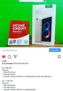 Kredit Handphone OPPO A83