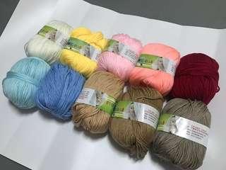 Silk Protein Yarn