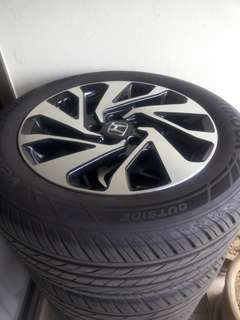 Honda Civic X RIM and tyres for sale