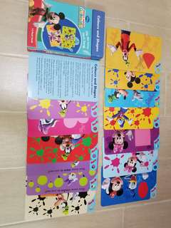 Mickey Mouse Flash Card