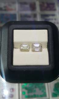 Emerald Cut Moissanite Stones