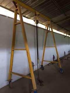 3 ton crane