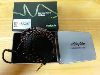 正貨Labkable超新正少用,一年線插頭3.5mm,有.冇單冇保有齊紙盒鐵盒,現售$2300