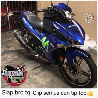 COVERSET Y15ZR MOVISTAR 2017 STICKER SIAP TANAM CUN