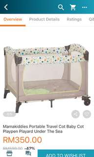 Mama kiddies bed coat travel
