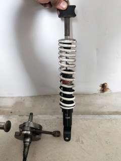 Vespa suspension
