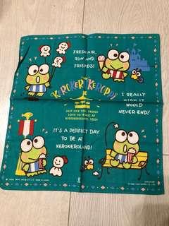 Keroppi 手巾 handkerchief