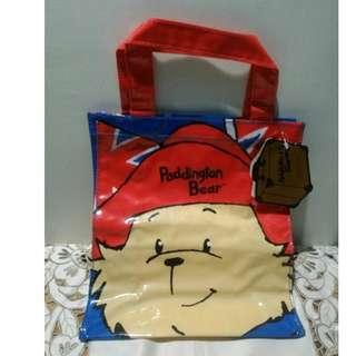 全新Paddington Bear shopping bag