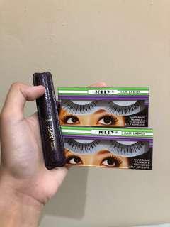 PROMO Tarte Mascara + 2 packs Bulu Mata Bawah