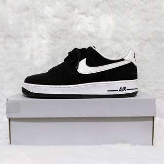 LAST PRICE From 4800 Nike Air Force 1 07 Low Black Suede Sneakers