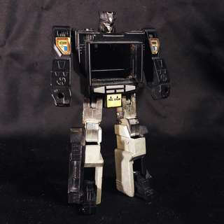 Takara Transformers G1 Transform Jr D-101 SOUNDBLASTER (1986) Soundwave