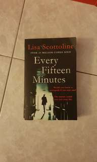 Books for trade Every fifteen minutes - Lisa Scottoline