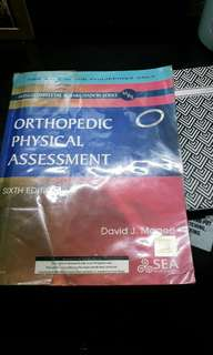 ORTHOPEDIC PHYSICAL ASSESSMENT BY MAGEE 6TH EDITION