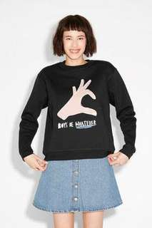 MONKI Boys Are Whatever sweater