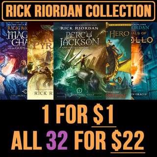 Rick Riordan eBooks