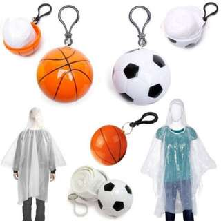 🍓Kapote ball raincoat inside cute design bag keychain bola