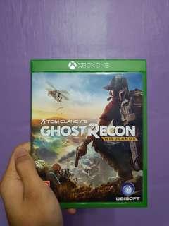 Xbox 1 Ghost Recon Wildlands