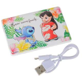 日本迪士尼預訂品 Stitch Day 充電器 portable charger