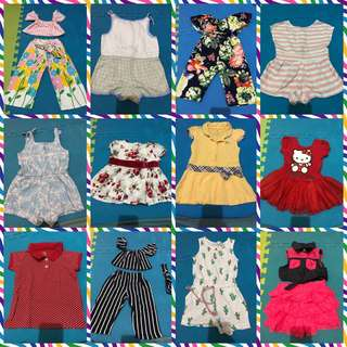 Baby Girl Dresses and Footwear
