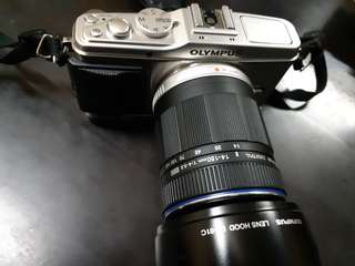 Olympus E-P3 with 14-150mm Lens M43