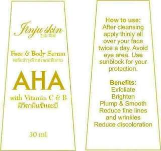 Face and body serum