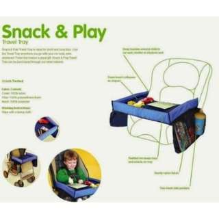 READY STOCK HIGHWAY CHILDSAFE ON THE GO WATERPROOF PLAY N SNACK TRAY