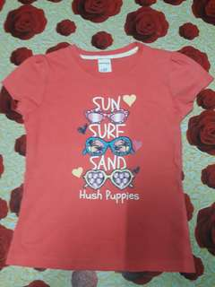 Jush puppies printed tshirt