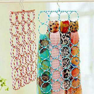 Hanger 28 Lubang: Jilbab/Kerudung/Hijab/Syal/Scarft