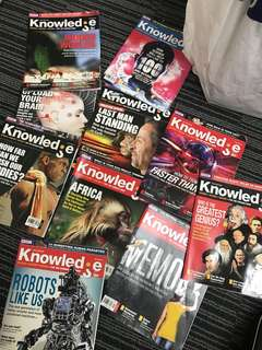 BBC knowledge magazinesx10