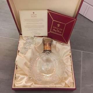 路易十三 LOUIS XIII 水晶酒瓶(連盒&證書)