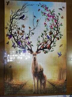 Deer Puzzle 1000's