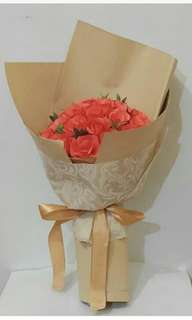 Flower bucket paper asturo premium
