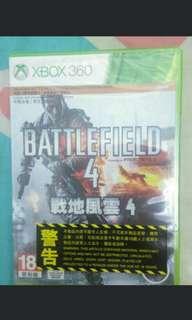 全新 Xbox360 battlefield 4 戰地風雲 4