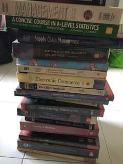 TextBooks & Reference Books