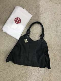 Vintage FENDI Black Hobo Bag