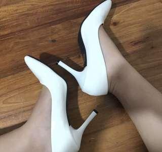 White Heels/Pumps