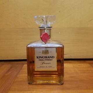 罕有絕版Nikka Kingsland Premier日本威士忌750ml