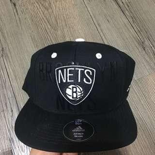Adidas Brooklyn Nets cap snapback /愛迪達 布魯克林 籃網隊板帽