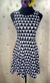 B&W Dress (H&M)