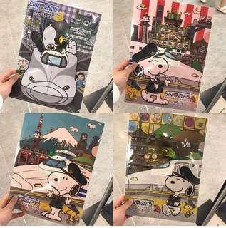 Snoopy 感謝祭💛 ‼️期間限定 只接一團 ‼️一律29號截數喔! A4 file $40/1