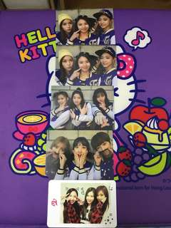 Twice group Photocard