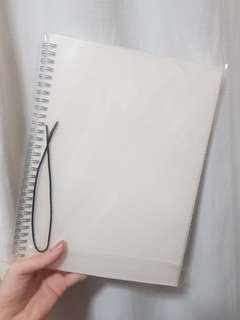 B5 square notebook