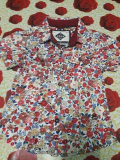 Jeep floral printed shirt