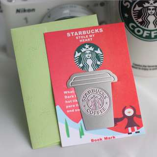 🆕Starbucks Inspired Hot Cup Bookmark