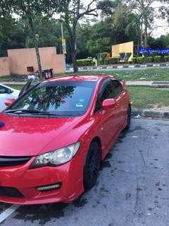 Honda civic fd 1.8 sambung bayar