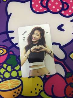 Twice TSB tzuyu photocard